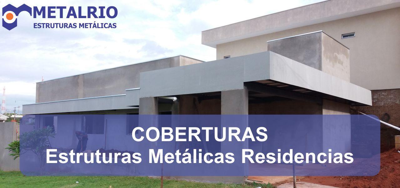 coberturas metalicas residenciais